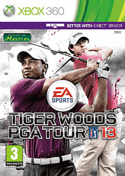 Tiger Woods PGA Tour 2013 Xbox 360 Cover Art