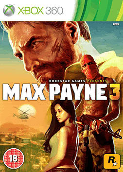 Max Payne 3 with Exclusive Cemetery Multiplayer Map Xbox 360 Cover Art