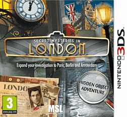 Secret Mysteries in London 3DS Cover Art