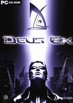 Deus Ex PC Games Cover Art
