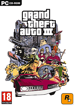 Grand Theft Auto III (MAC) Mac Cover Art