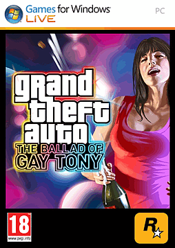 Grand Theft Auto IV: The Ballad of Gay Tony PC Games Cover Art