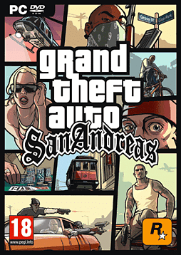 Grand Theft Auto: San Andreas (MAC) Mac Cover Art