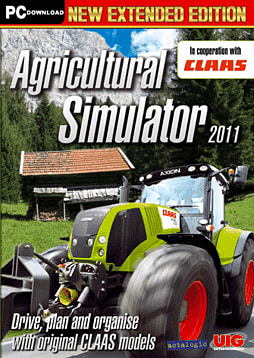 Agricultural Simulator 2011  Extended Edition PC Games Cover Art