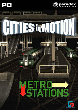 Cities in Motion: Metro Station (DLC) PC Games Cover Art