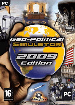 Geopolitical Simulator 2009 PC Games Cover Art