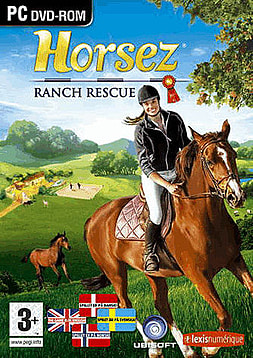 Horsez: Ranch Rescue + Imagine Champion Rider PC Games Cover Art