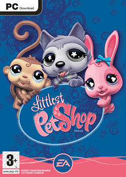 Littlest Pet Shop PC Games Cover Art