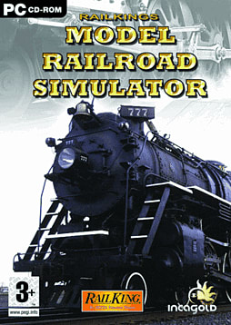 RailKings Model Railroad Simulator PC Games Cover Art