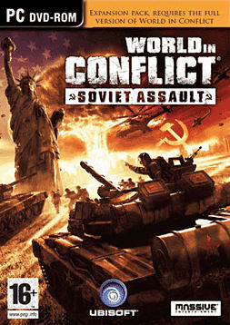 World in Conflict Soviet Assault PC Games Cover Art