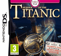 Murder on the Titanic DSi and DS Lite Cover Art