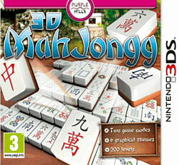 Mahjong 3D 3DS Cover Art