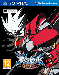 BlazBlue: Continuum Shift Extend PS Vita Cover Art