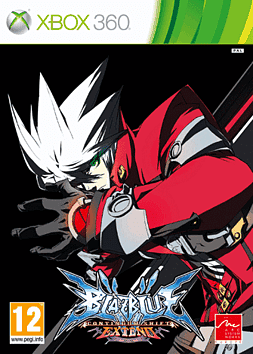 BlazBlue: Continuum Shift Extend Xbox 360 Cover Art