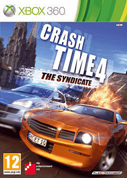 Crash Time 4 Xbox 360 Cover Art