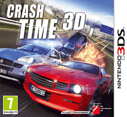 Crash Time 3D 3DS Cover Art