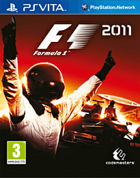 Formula 1 2011 PS Vita Cover Art