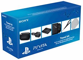 PS Vita Travel Kit Accessories 