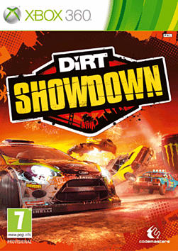 Dirt Showdown Xbox 360 Cover Art
