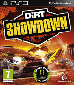 DiRT Showdown PlayStation 3 Cover Art