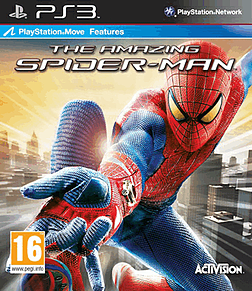 The Amazing Spider-Man PlayStation 3 Cover Art