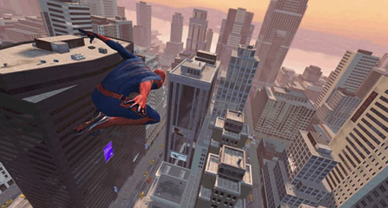 Open world adventure in New York in Amazing Spider-Man on PlayStation 3, PXbox 360, Wii, PC, 3DS and DS at GAME