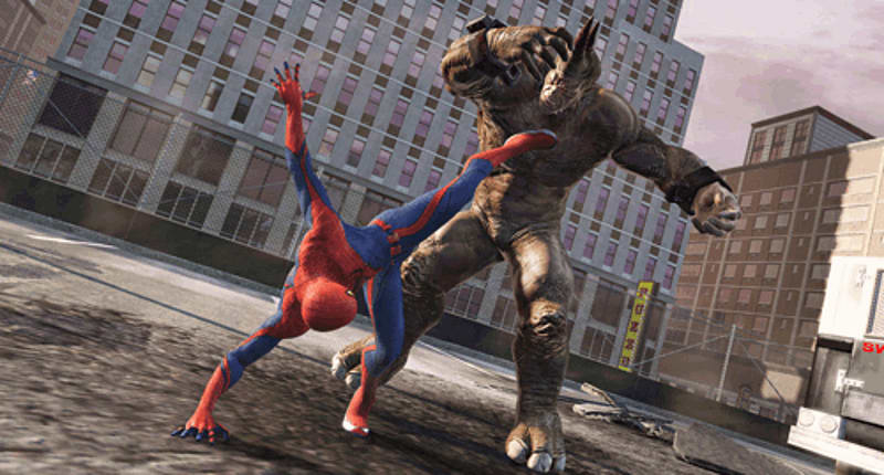 Web Rush aid super battles in the Amazing Spider-Man at game