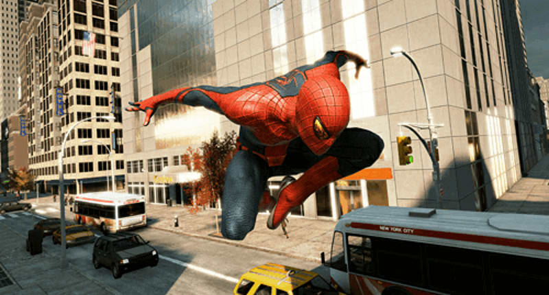 Open World New York awaits in the Amazing Spider-Man on Xbox 360, PS3, PS Vita, Wii, DS and 3DS