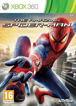 The Amazing Spider-Man Xbox 360 Cover Art