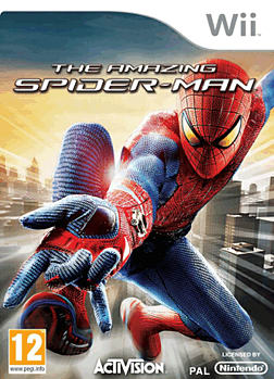 The Amazing Spider-Man Wii Cover Art