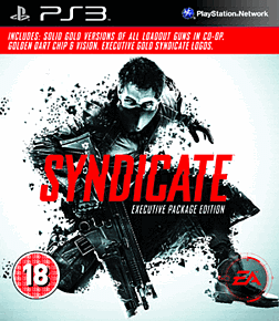 Syndicate: Executive Edition (Exclusive) PlayStation 3 Cover Art