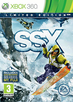 SSX Limited Edition Xbox 360 Cover Art