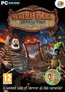 Weird Park: Broken Tune PC Games Cover Art