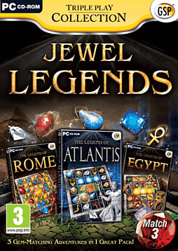 Jewel Legends Triple Pack PC Games Cover Art