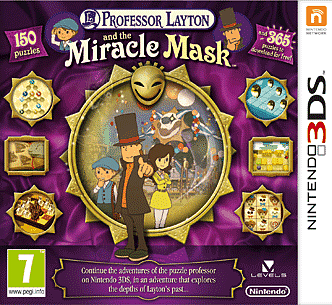 Professor Layton & The Miracle Mask on 3DS at GAME