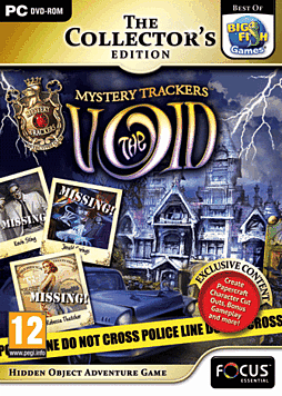 Mystery Trackers: The Void Collector's Edition PC Games Cover Art