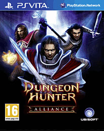 Dungeon Hunter Alliance PS Vita Cover Art
