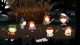 South Park: The Stick of Truth screen shot 1