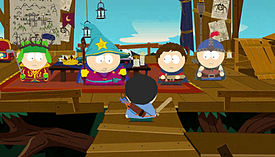PS3 SOUTH PARK STICK OF TRUTH screen shot 5