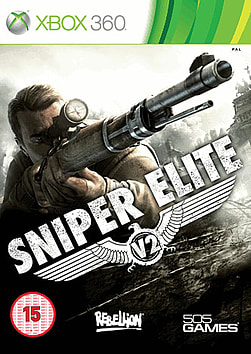 Sniper Elite V2 Xbox 360 Cover Art