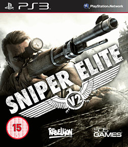 Sniper Elite V2 PlayStation 3 Cover Art