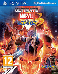Ultimate Marvel vs. Capcom 3 PS Vita Cover Art