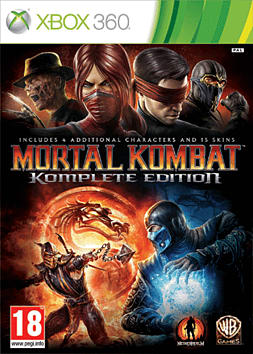 Mortal Kombat Komplete Edition Xbox 360 Cover Art