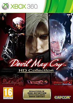 Devil May Cry HD Collection Xbox 360 Cover Art