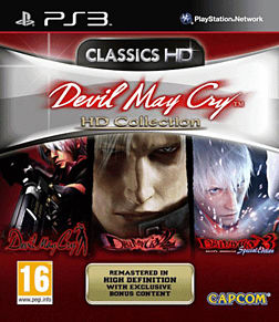 Devil May Cry HD Collection PlayStation 3 Cover Art