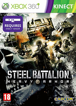 Steel Battalion Heavy Armor Xbox 360 Kinect Cover Art