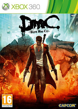 DmC: Devil May Cry Xbox 360 Cover Art