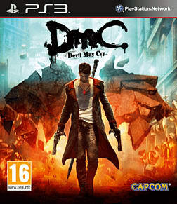 DmC: Devil May Cry PlayStation 3 Cover Art