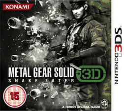 Metal Gear Solid: Snake Eater 3D 3DS Cover Art