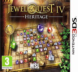 Jewel Quest IV - Heritage 3DS Cover Art